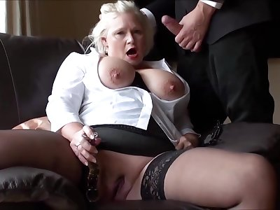Bbw Grown up Masturbating Pussy Plaything With Scrounger