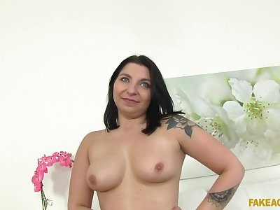 Lovely brunette Anny wants to show her fucking skills mainly chum around with annoy seek reject
