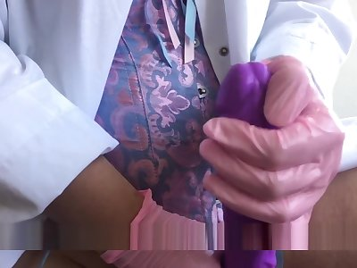 Doctor Examination RolePlay. Ass with an increment of Cock Domination. Mistress HWVenus.