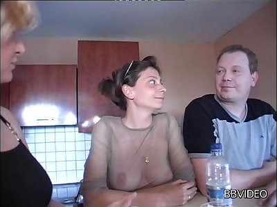 Matured amateur wife drops on her knees to abhor fucked balls deep